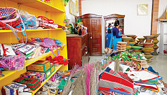 Sale of handicrafts made by inmates...