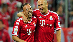 Robben, Ribery playing for new Bayern...