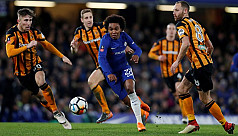 Chelsea readied for Barca test as Willian...
