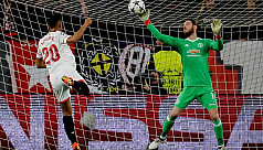 Superb De Gea shuts out Sevilla as United...