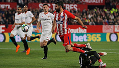 Griezmann hat-trick as Atletico trounce...