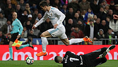 Ronaldo hits hat-trick as Real, Atletico...