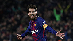 Messi wows team mates, Valverde with...