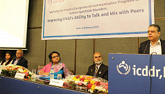 icddr,b, faith Bangladesh organise workshop for caregivers on ASD