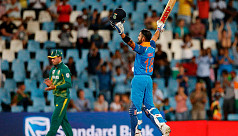 Record-breaker Kohli leads India to...