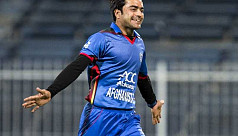 Rashid leads Afghanistan to thumping...