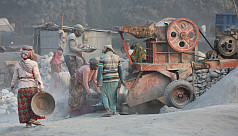 Lungs of dust: Stone crushing workers...