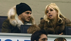 Mrs Icardi at odds with Inter over star...