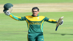 Wicketkeeper De Kock adds to South Africa's...