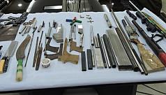 Police bust gunsmith workshop in...