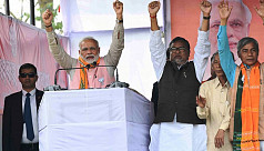 Modi addressees his first election rallies...