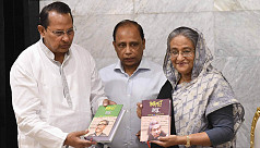Book on Bangabandhu handed over to...