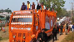 Tripura polls: Political parties hit...
