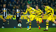 Pitch battle as Reus ends goal drought...
