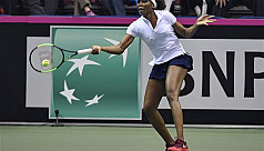 US off to strong start in Fed Cup defence...