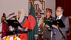 Mahmud Hossain sworn in as new chief...
