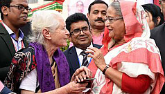 PM Hasina hands over gratis visa to...