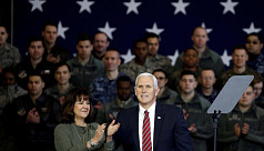 Pence says US wants peaceful solution...