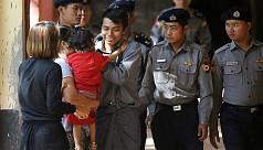 Reuters reporters arrested in Myanmar...