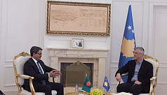 State Minister Shahriar Alam meets with Kosovo president