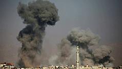 Third day of deadly Syrian regime raids...