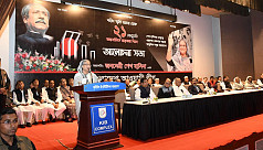 PM Hasina: Don't let Bangladesh plunge...