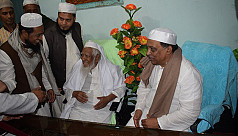 Home minister meets Hefazat chief...