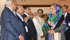 PM Hasina reaches Rome for IFAD meeting
