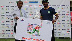 Ashraful ton in vain as Shahriar inspires...