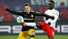 Dortmund held at Leipzig in tight Champions...
