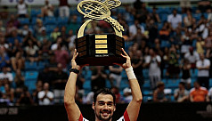 Fognini wins Brazil Open title