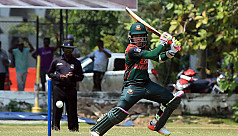 Bangladesh win T20 warm-up by 41...