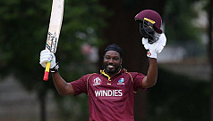 Gayle leads Windies past UAE, Afghanistan...