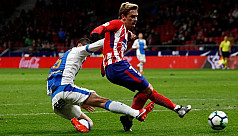 Griezmann bags four as Atletico rout...