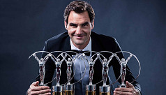 Federer world's best sportsman yet...
