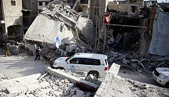 Air strikes resume in Syria's Ghouta...