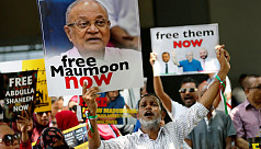 Maldives ex-leader Gayoom charged with...
