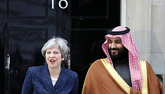 UK rolls out red carpet for Saudi crown...