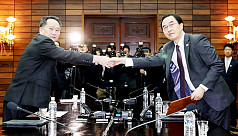 Two Koreas agree to hold summit on April...