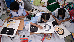 In pictures: Drawing competition for...