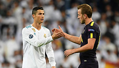 Kane and Co close on CR7 landmark