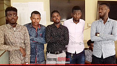 Missing Somali students surrender to...