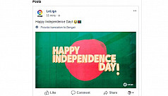 LaLiga sends Bangladesh regards on Independence...