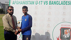 Bangladesh U17 level series against...