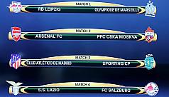 Arsenal draw CSKA Moscow in Europa...