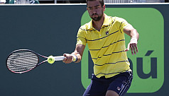 Cilic, Del Potro advance as Dimitrov...