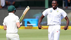 Rabada rips through Australian...