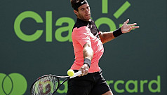 Del Potro, Raonic advance, Cilic ousted...