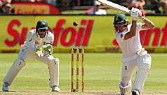 De Villiers' delight at Test ton as...