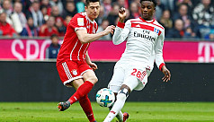 Bayern close in on title, send Hamburg...